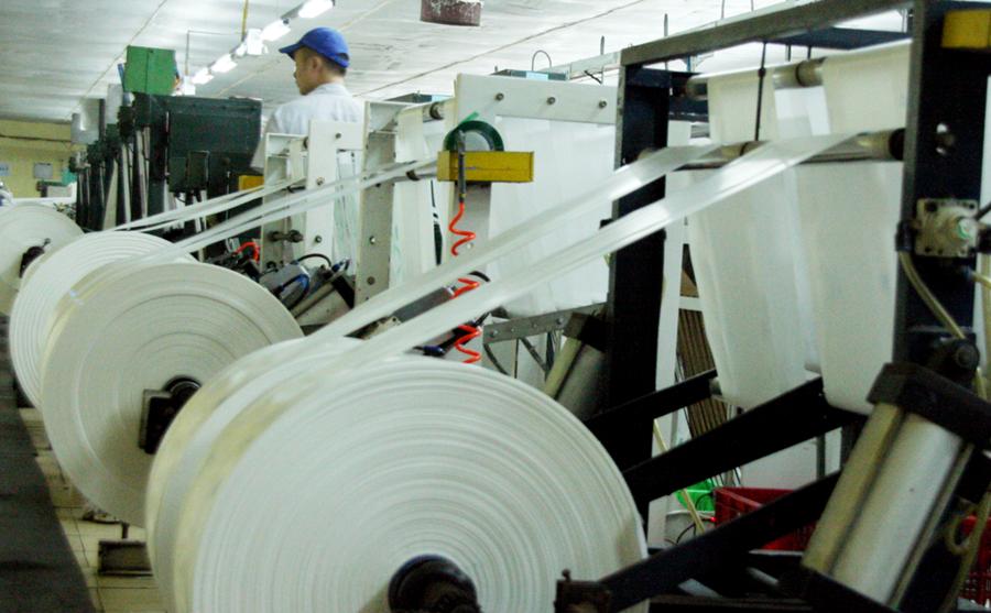 Hệ thống sản xuất túi rác tiên tiến